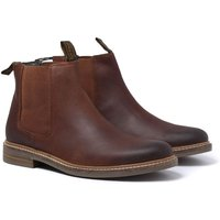Barbour Farsley Tan Leather Chelsea Boots