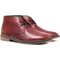 Barbour Dark Tan Kalahari Leather Desert Boots