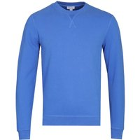 Sunspel Booth Blue Loopback Sweatshirt