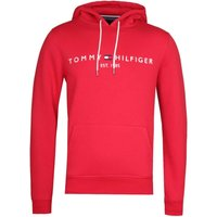 Tommy Hilfiger Red Logo Overhead Hoodie