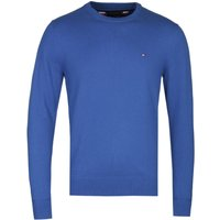 Tommy Hilfiger Luxury Touch Electric Blue Crew Neck Sweater
