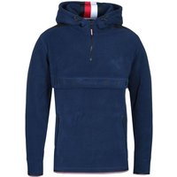 Tommy Hilfiger Navy Polar Fleece Anorak Sweatshirt
