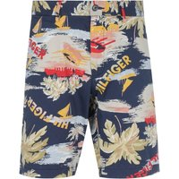 Tommy Hilfiger Brooklyn Regular Fit Hawaii Print Twill Shorts