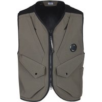 CP Company C.P.Shell Military Green Lens Gilet