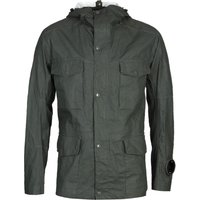 CP Company Plated Linen Military Green Millie Jacket