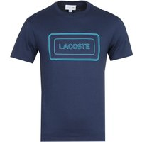 Lacoste Contrast Box Logo Sage Green T-Shirt