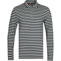 Barena Matana Vagador Green & Black Stripe Polo Shirt
