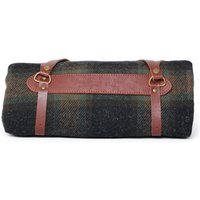 Pendleton Metolius Dark Green Check Woollen Throw