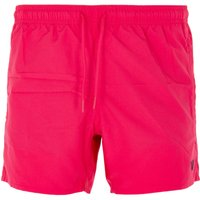Emporio Armani Loungewear Embroidered Eagle Swim Shorts - Fuschia