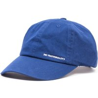 NN07 Logo Canvas Cap - Blue