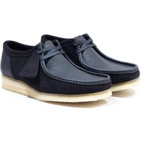Clarks Originals Wallabee Suede Leather Shoes - Black