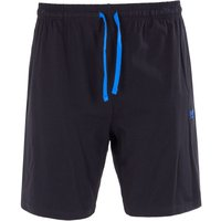 BOSS Bodywear Mix & Match Sweat Shorts - Black & Blue