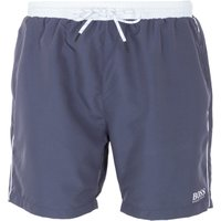 BOSS Bodywear Starfish Swim Shorts - Charcoal