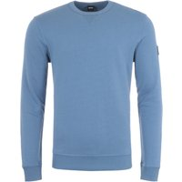 BOSS Walkup Crew Neck Sweatshirt - Blue