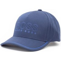 BOSS Novel Logo Cap - Navy
