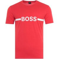 BOSS Bodywear Sustainable Slim Fit UV-Protection T-Shirt - Red
