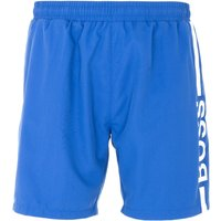 BOSS Bodywear Dolphin Sustainable Swim Shorts - Cobalt Blue