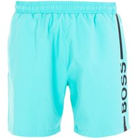 BOSS Bodywear Dolphin Sustainable Swim Shorts - Seafoam