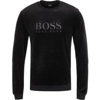 BOSS Bodywear Velour Black Sweatshirt