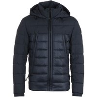 BOSS Hybrid Water Repellent Sustainable Navy Wadded Jacket