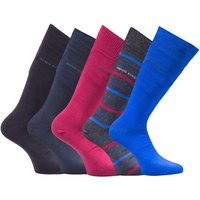BOSS Bodywear 5 Pack Gift Boxed Dark Coloured Socks