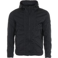 BOSS Onic Lightweight Water Repellent Hooded Jacket - Black