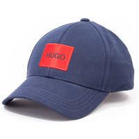 HUGO Men-X Logo Patch Cap - Navy