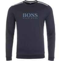BOSS Bodywear Tracksuit Crew Neck Sweatshirt - Navy