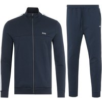 BOSS Funnel Neck Sweatshirt & Joggers Tracksuit - Navy