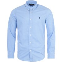 Polo Ralph Lauren Gingham Slim Fit Oxford Shirt - Blue