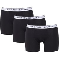 Polo Ralph Lauren 3 Pack Classic Boxer Briefs - Black