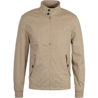 Farah Hardy Organic Blend Light Sand Harrington Jacket