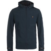 Farah Bective Soft Shell True Navy Hopsack Jacket