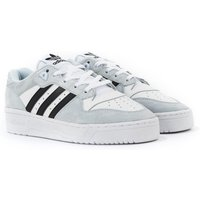 Adidas Originals Rivalry Low Trainers - White, Halo Blue & Black