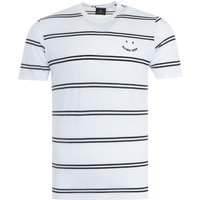 PS Paul Smith Stripe T-Shirt - White & Black