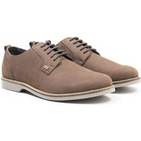 Barbour Raby Leather Derby Shoe - Taupe
