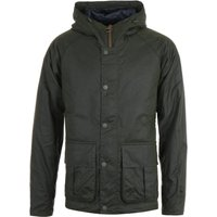 Barbour Horrow Forest Green Wax Jacket