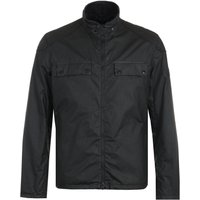 Barbour International Allen Wax Jacket - Black