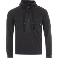 CP Company Heavy Jersey Lens Hooded Sweatshirt - Black