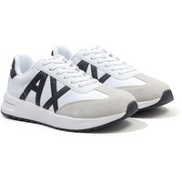 Armani Exchange Sustainable Trainers - White