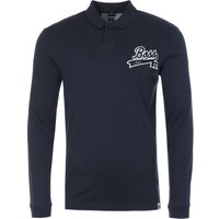 BOSS-x-Russell-Athletic-Exclusive-Logo-Slim-Fit-Long-Sleeve-Polo-Shirt-Navy