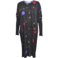 Auguste Dress In Dark Floral Explosion By Klements