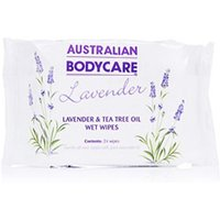 Australian Bodycare Lavender Hygienic Wet Wipes 24pcs - Lavender Gifts