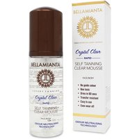 Bellamianta Crystal Clear Rapid Self Tanning Clear Mousse 150ml - Zest Beauty Care Gifts