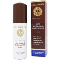 Bellamianta Rapid Self Tanning Tinted Mousse 150ml - Zest Beauty Care Gifts