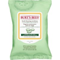 Burt's Bees Facial Cleansing Towelettes with Cucumber & Sage - 30 Wipes - Facial Gifts