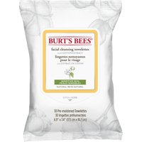 Burt's Bees Sensitive Skin Facial Cleansing Towelettes with Cotton Extract - 30 Wipes - Facial Gifts