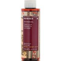 Korres Vanilla, Freesia And Lychee Showergel 250ml