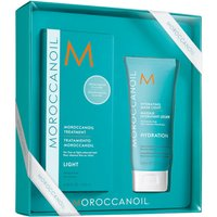 Moroccanoil Light Treatment 125ml & Hydrating Mask Light 75ml - Zest Beauty Care Gifts