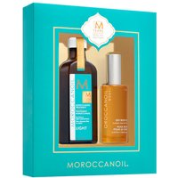 Moroccanoil Treatment Light 100ml & Dry Body Oil 50ml - Zest Beauty Care Gifts
